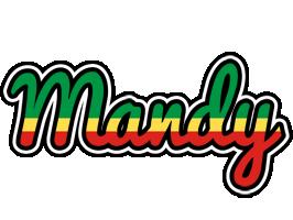Mandy african logo
