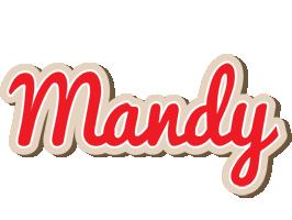 Mandy chocolate logo