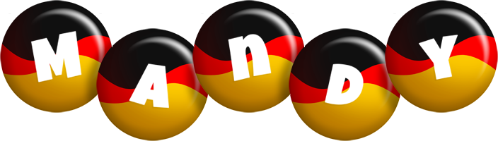 Mandy german logo