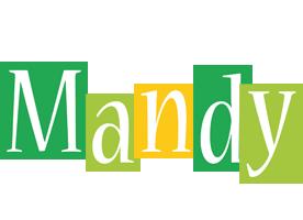 Mandy lemonade logo