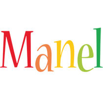 Manel birthday logo