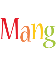 Mang birthday logo