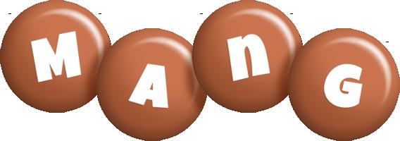 Mang candy-brown logo
