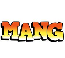 Mang sunset logo