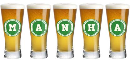 Manha lager logo