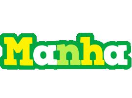 Manha soccer logo