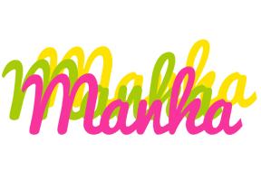 Manha sweets logo