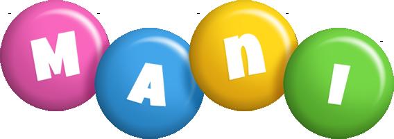 Mani candy logo