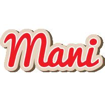 Mani chocolate logo