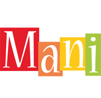 Mani colors logo