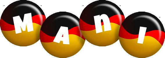 Mani german logo
