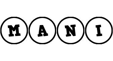 Mani handy logo