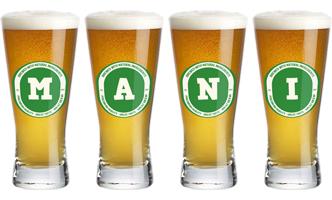 Mani lager logo