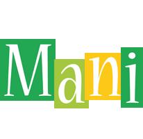Mani lemonade logo