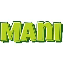 Mani summer logo