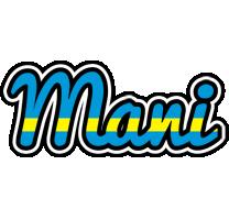 Mani sweden logo
