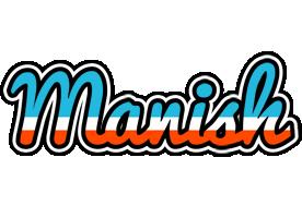 Manish america logo