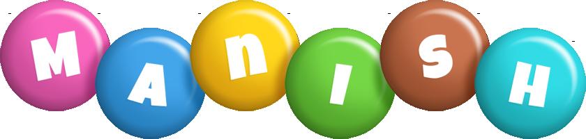 Manish candy logo