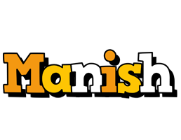 Manish cartoon logo