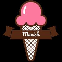 Manish premium logo