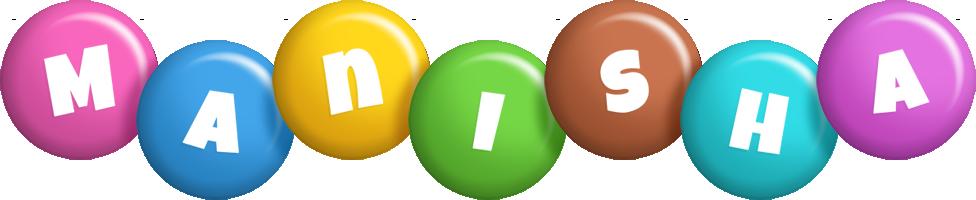 Manisha candy logo