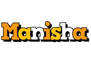 Manisha cartoon logo