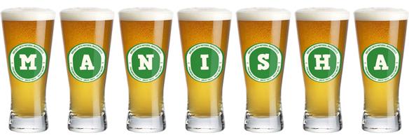 Manisha lager logo
