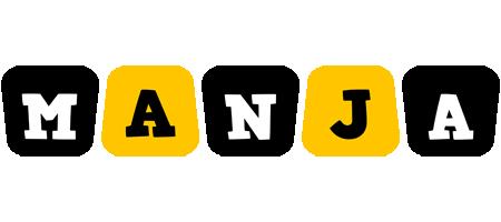 Manja boots logo