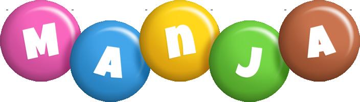 Manja candy logo