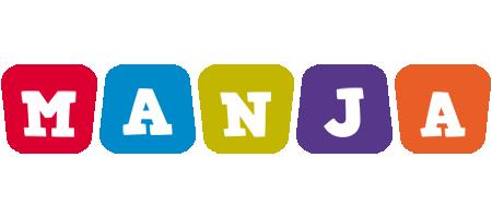 Manja daycare logo