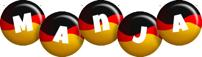 Manja german logo