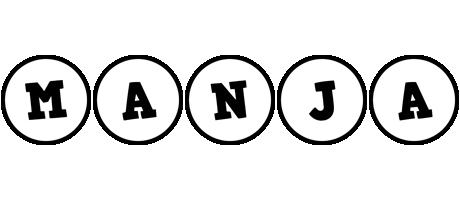 Manja handy logo