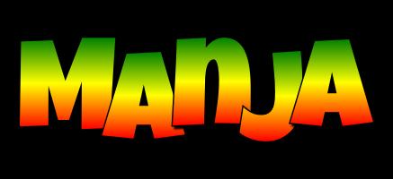 Manja mango logo
