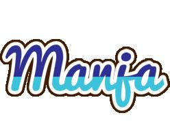 Manja raining logo