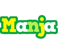 Manja soccer logo