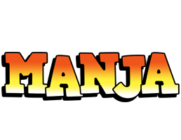 Manja sunset logo