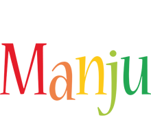 Manju birthday logo