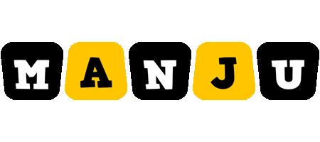 Manju boots logo