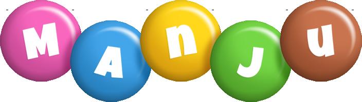Manju candy logo