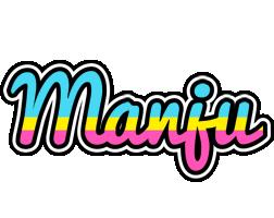 Manju circus logo