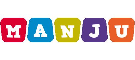 Manju daycare logo