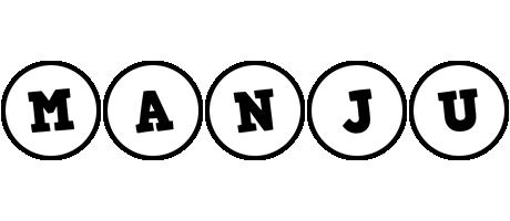 Manju handy logo