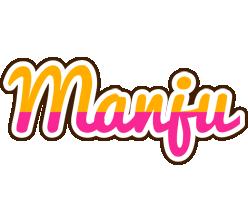 Manju smoothie logo