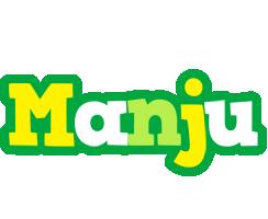 Manju soccer logo