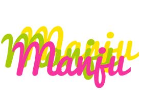Manju sweets logo