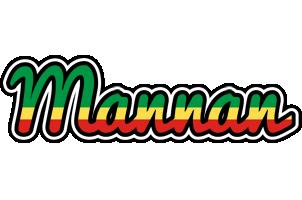 Mannan african logo