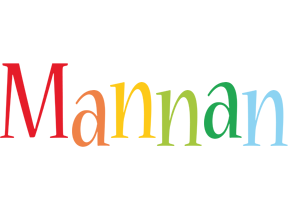 Mannan birthday logo