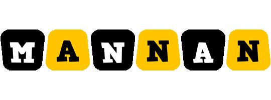 Mannan boots logo