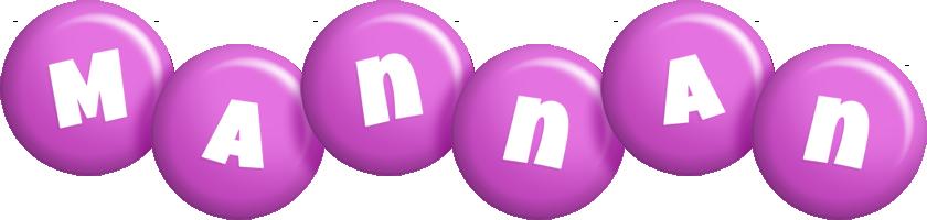 Mannan candy-purple logo