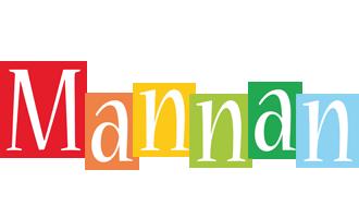 Mannan colors logo